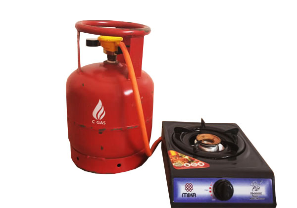 6 Kg Gas Full Package With Burner