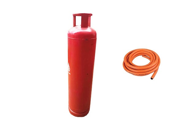 45 Kg Gas Full Package = Cylinder + Gas + Hosepipe (1)