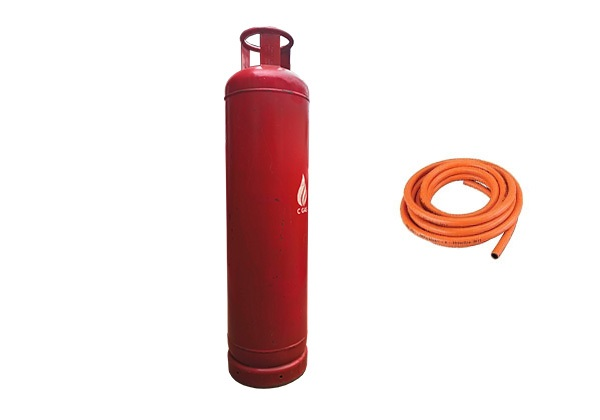 45 Kg Gas Full Package = Cylinder + Gas + Hosepipe (2)