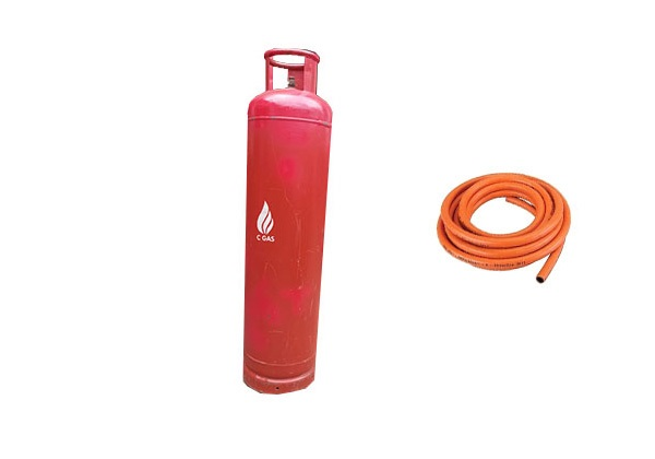 45 Kg Gas Full Package = Cylinder + Gas + Hosepipe (3)