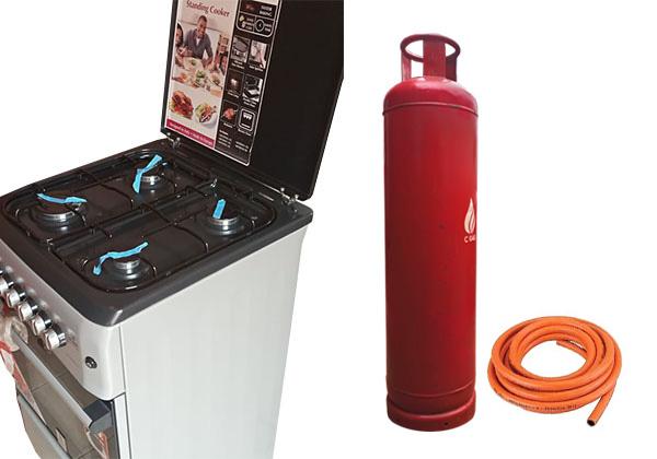 45Kg Cylinder + Gas + Hosepipe + Cooker (2)