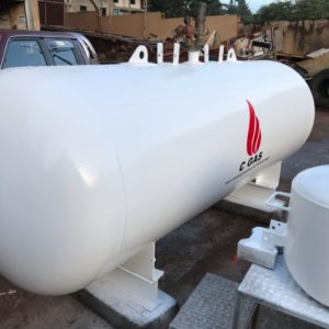 One Tonne (1 Ton) Bulk Gas Tank
