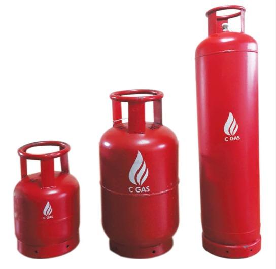 6KG 13KG 45KG Cylinder Photo
