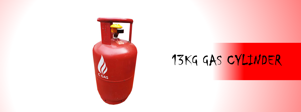 Conch Gas - 13KG GAS CYLINDER and Refill