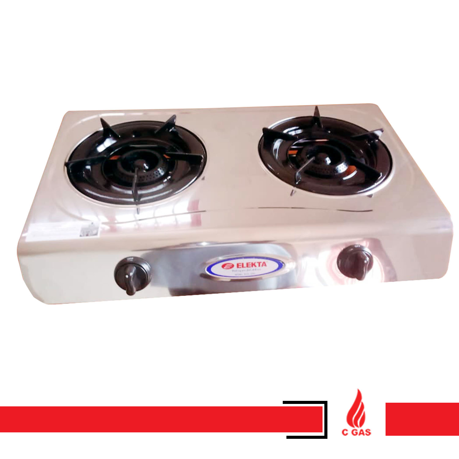Double Plate Gas Stoves